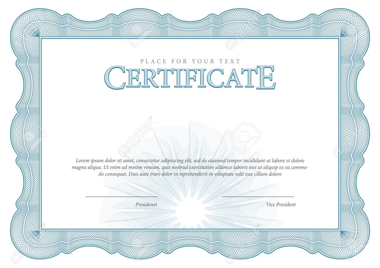 Weinlese-Zertifikat. Auszeichnung Hintergrund. Geschenkgutschein ...