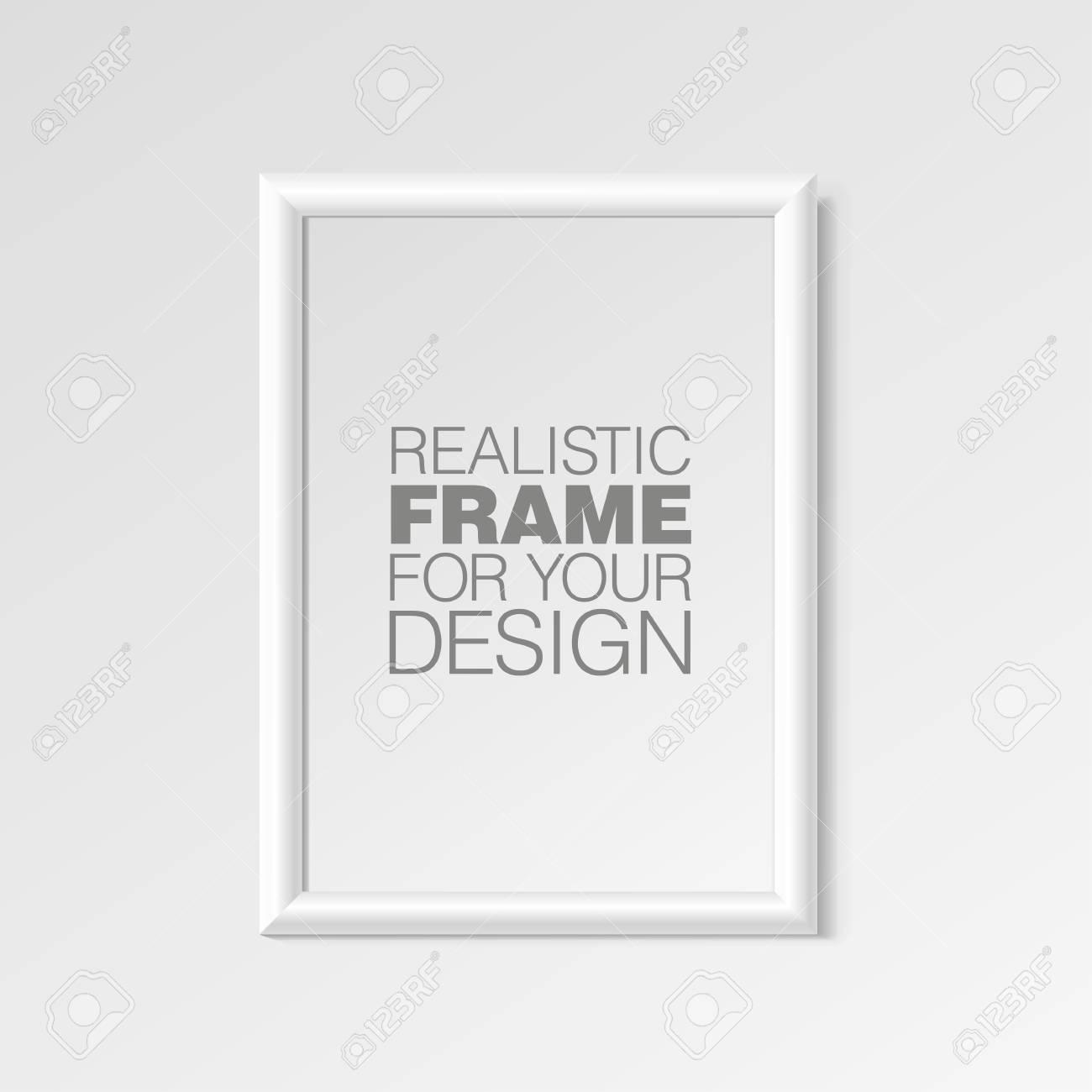 Realistische Vertikale Rahmen Für Die Bilder Lizenzfrei Nutzbare ...