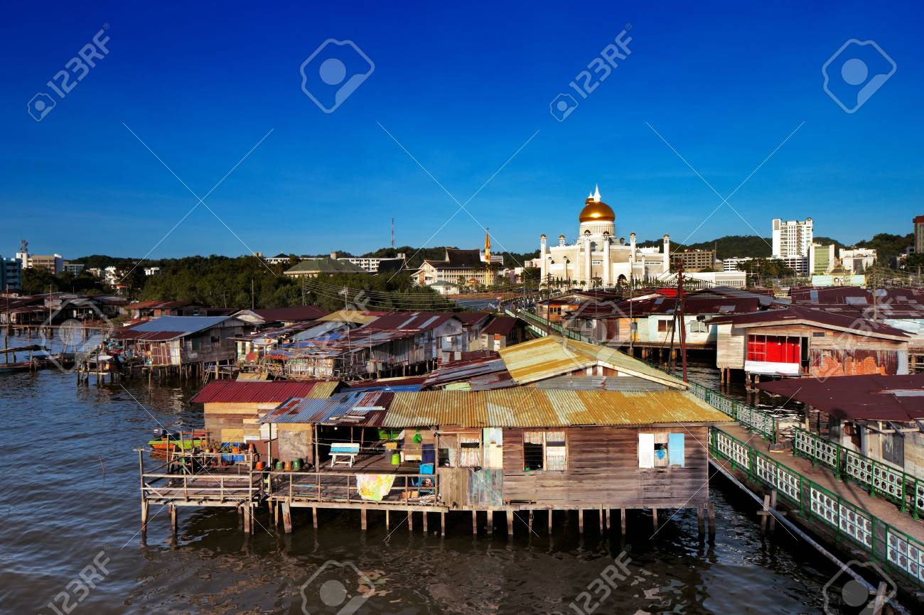 Brunei s capital Bandar Seri Begawan famed water village In