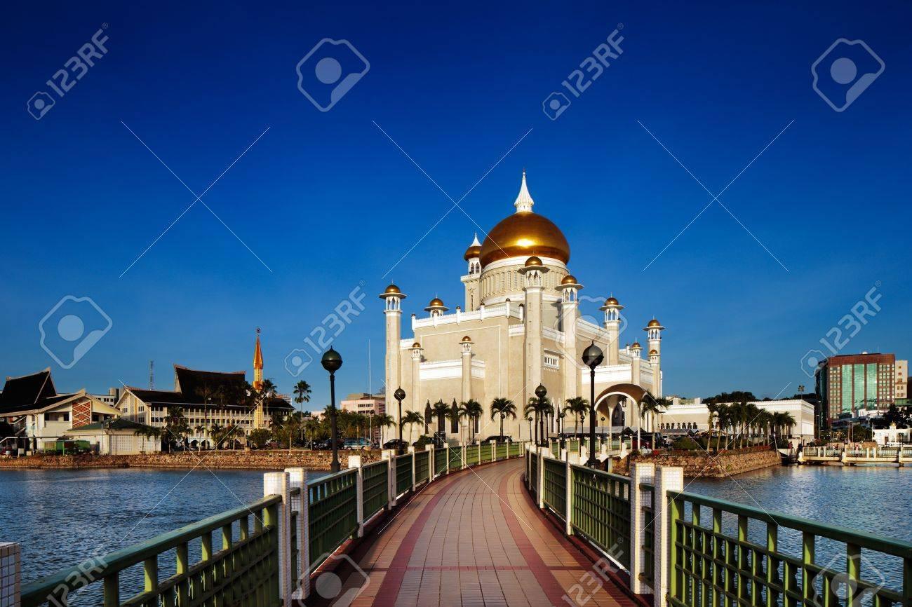 The center piece of Brunei s capital Bandar Seri Begawan is the