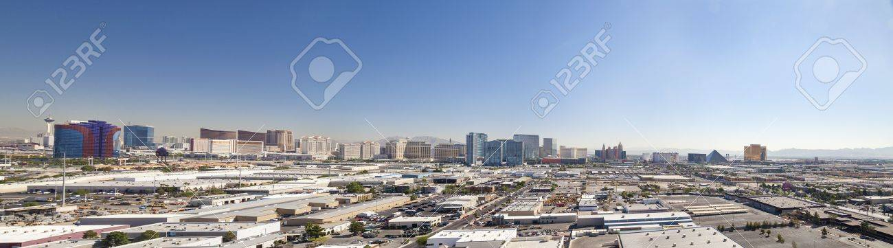 Skyline of Las Vegas City, Nevada, USA Stock Photo - 17128050