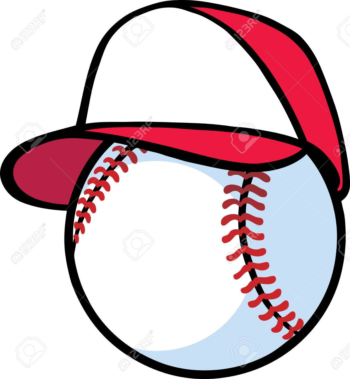 Baseball with hat Stock Vector - 8923776