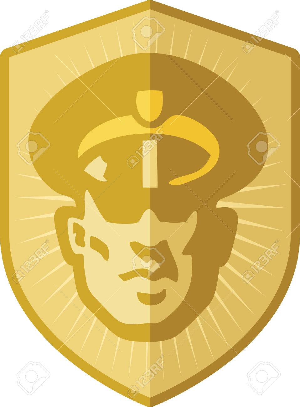 security guard badge royalty free cliparts vectors and stock