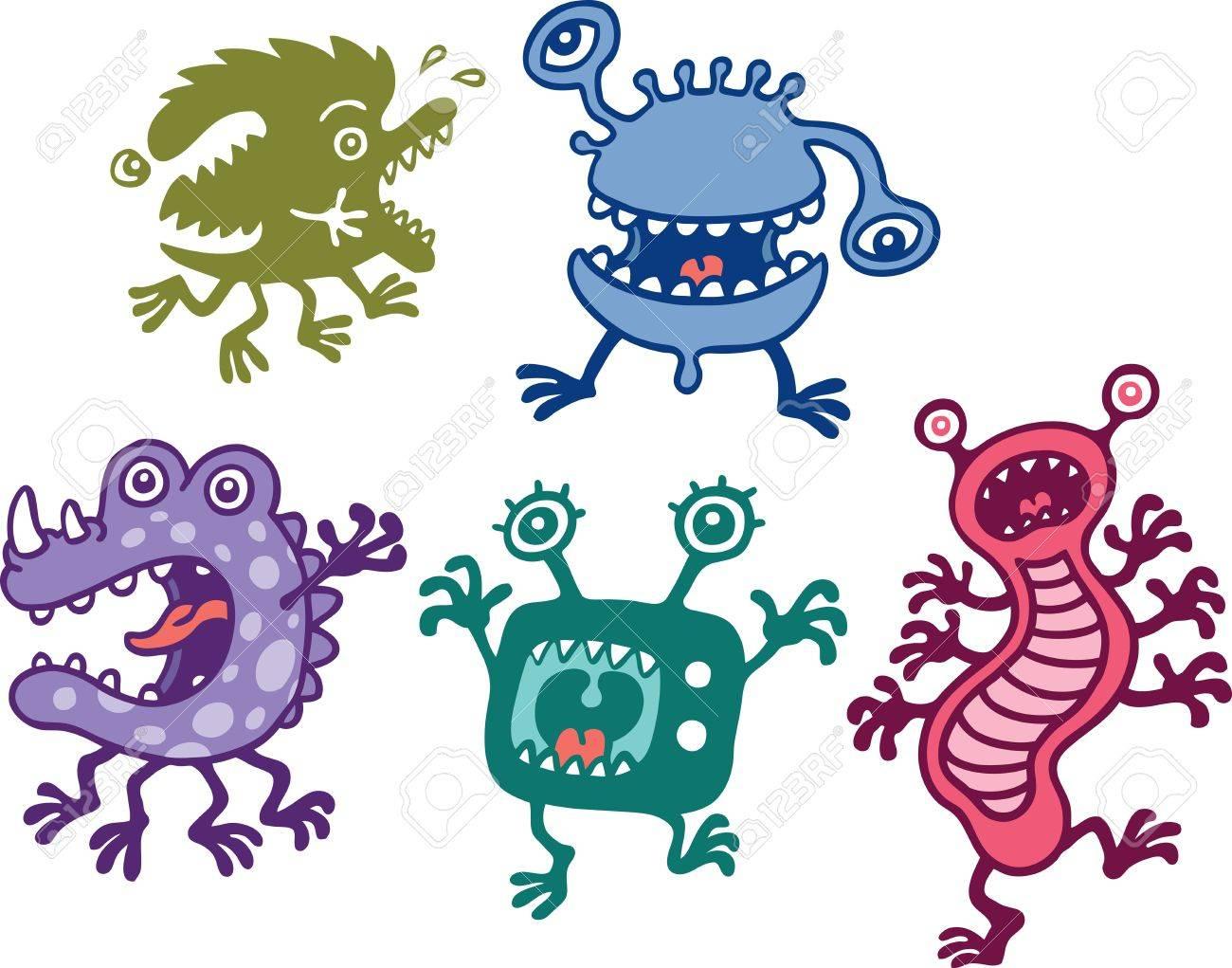 Monsters Stock Vector - 9128569