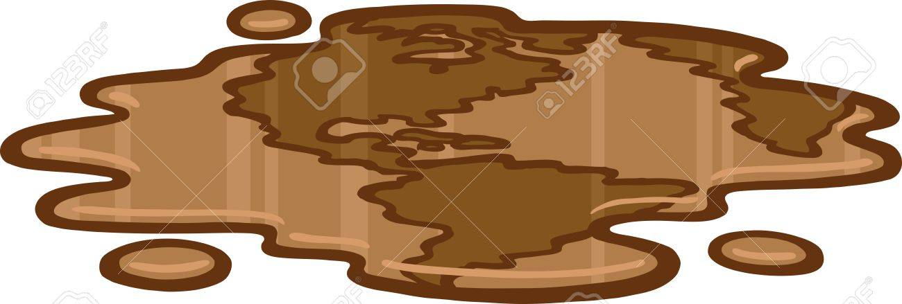 Oil Earth Stock Vector - 9561385