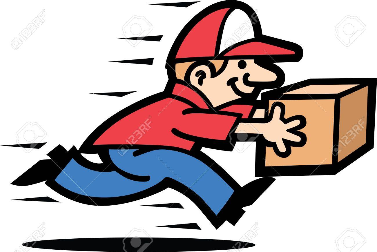 Courier Man - 9881500
