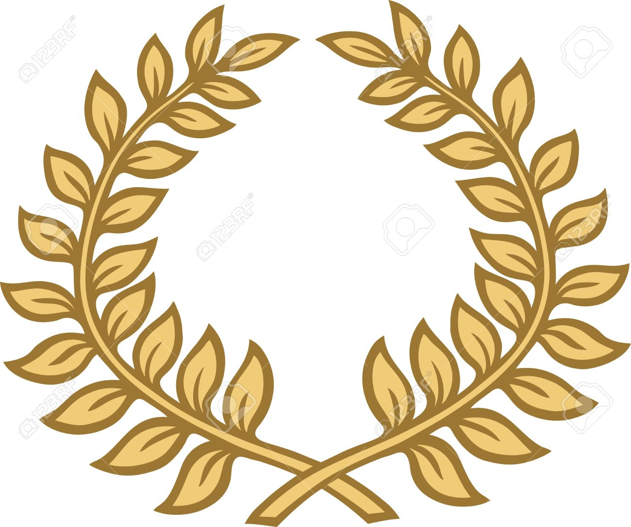 Laurel Leaves Stock Vector
