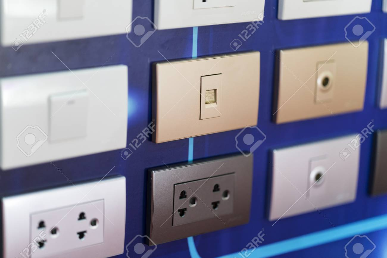 High Technology, Design And Safety Wall Electric Plug, Switch ...