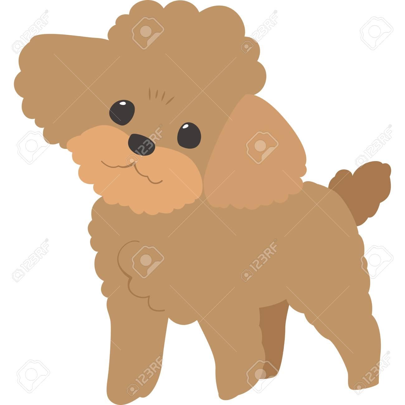 Poodle Clipart Poodle Dog - Pink Poodle Silhouette - Free Transparent PNG  Clipart Images Download