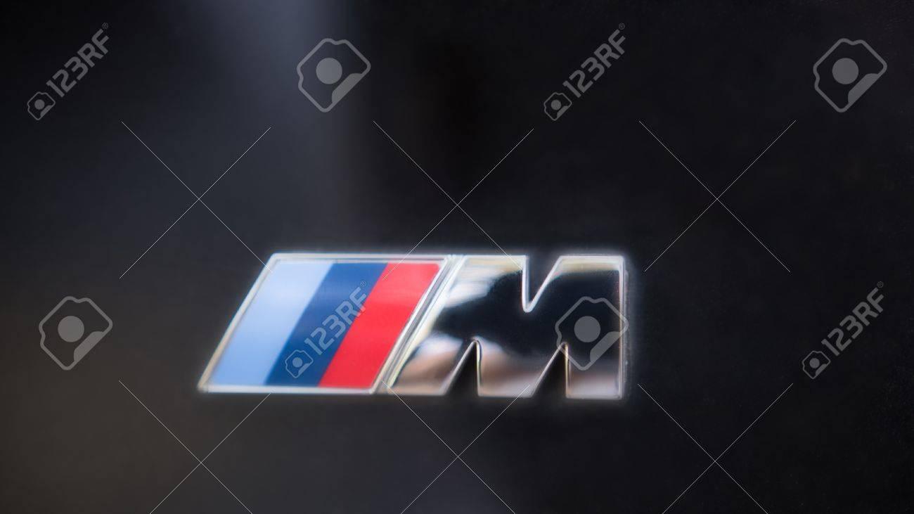 Kazan russia july 2017 logo sign for bmw m on black hood kazan russia july 2017 logo sign for bmw m on black hood of buycottarizona Gallery