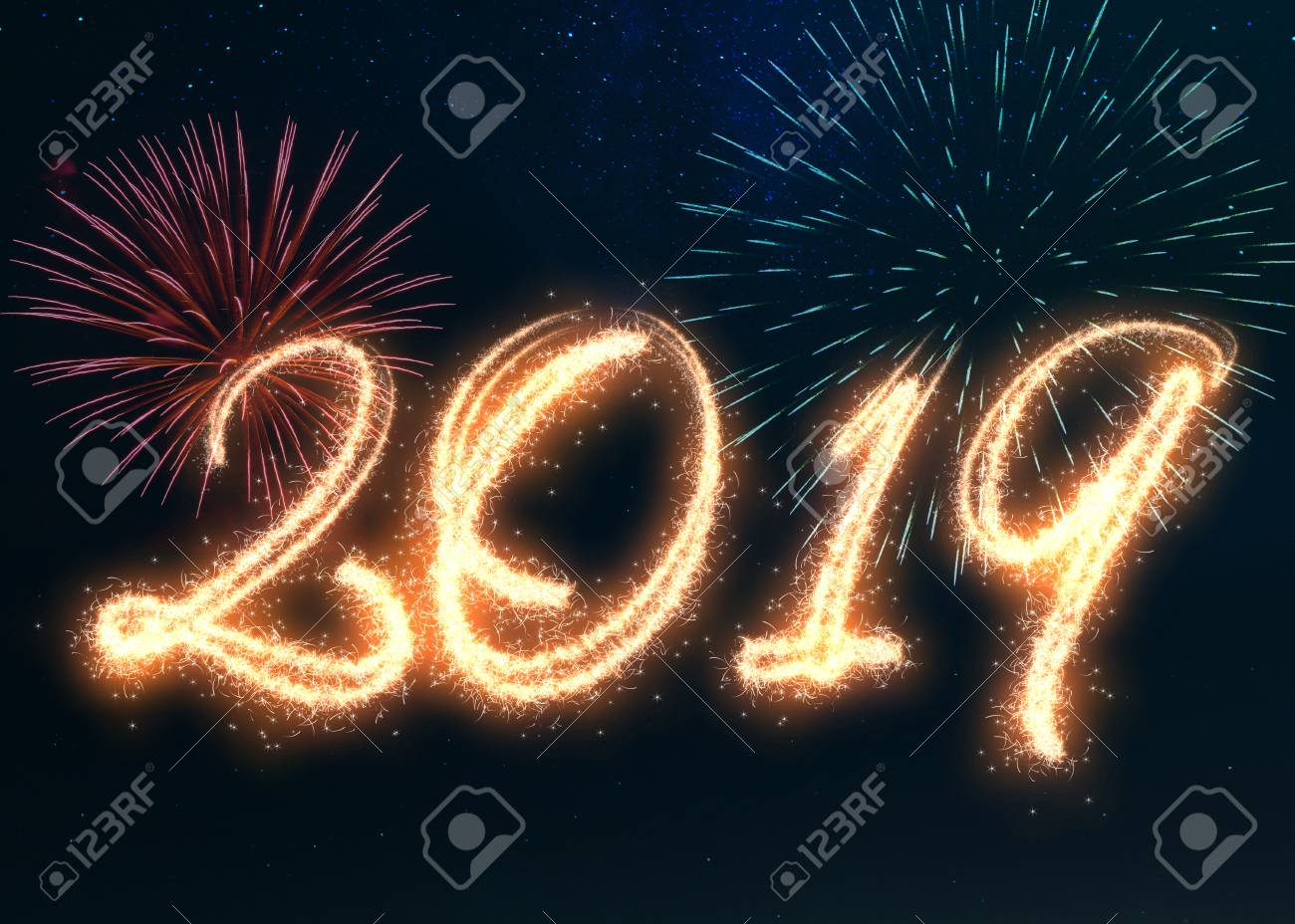 Happy New Year Fireworks 19