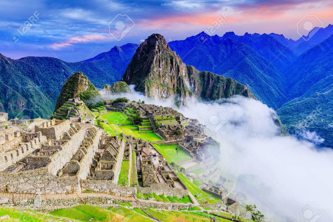 Machu Picchu, Peru. One of the New Seven Wonders of the World - 82330054