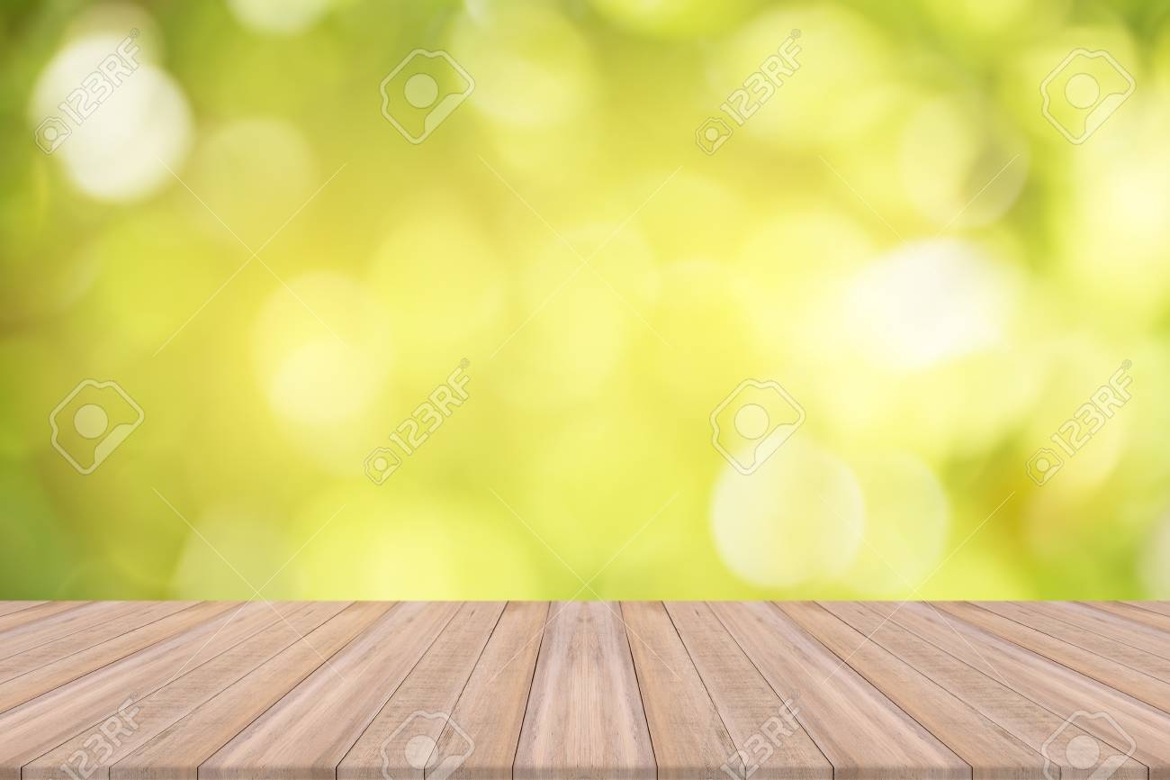Empty Wooden Table With Natural Background Free Space For Product Stock Photo Picture And Royalty Free Image Image 80939508
