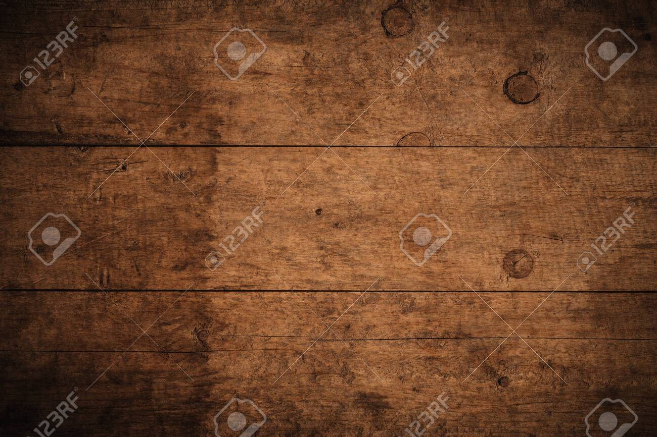 Old grunge dark textured wooden background,The surface of the old brown wood texture,top view brown wood paneling - 123937370