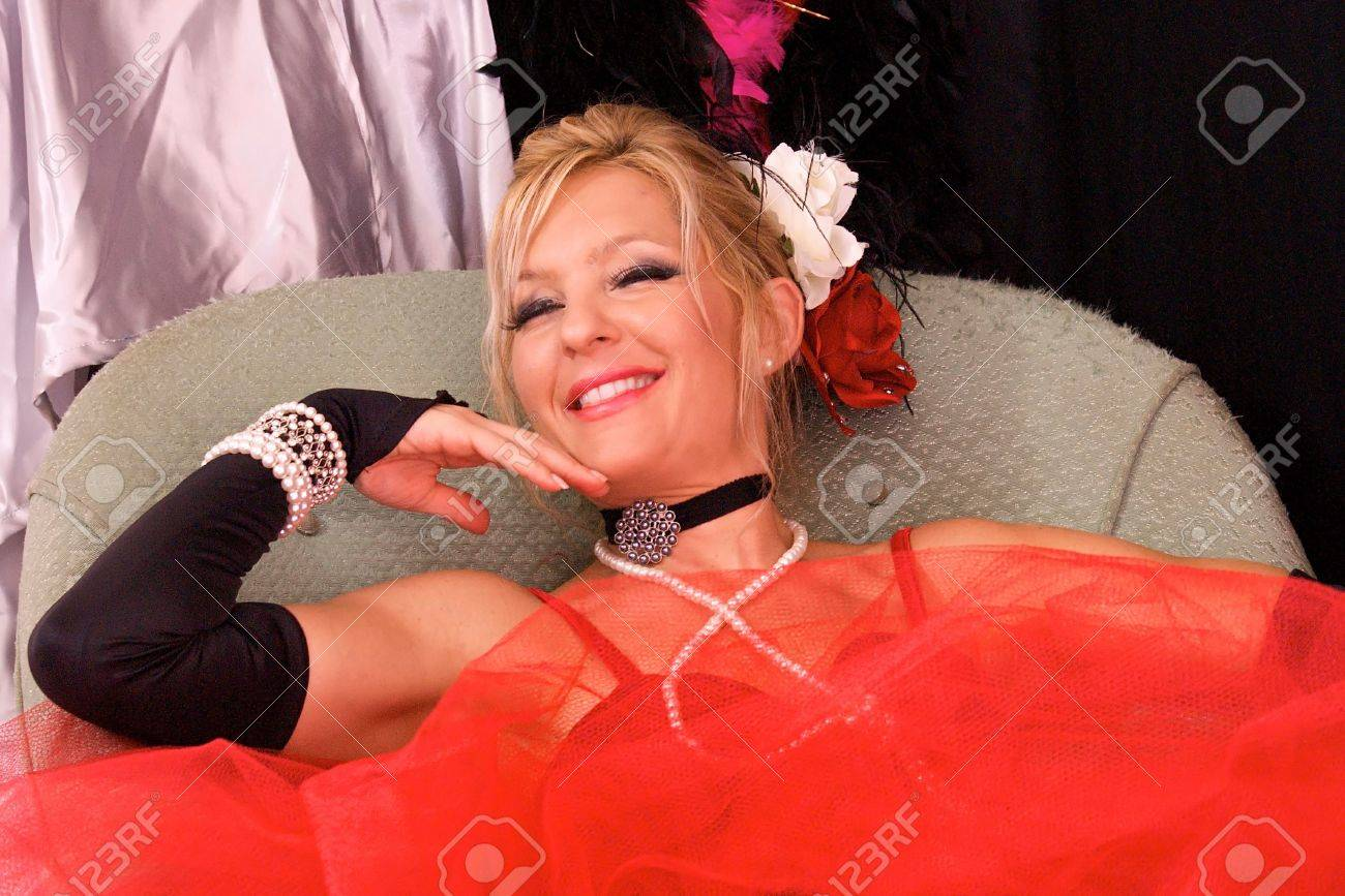 Actress Dressed Up As Old Fashioned Madam Or Prostitute Could Stock Photo Picture And Royalty Free Image Image 5959674