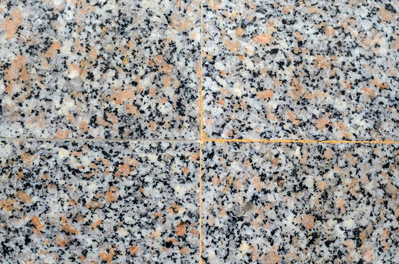 Gray polished granite texture use for background  Seam tiles