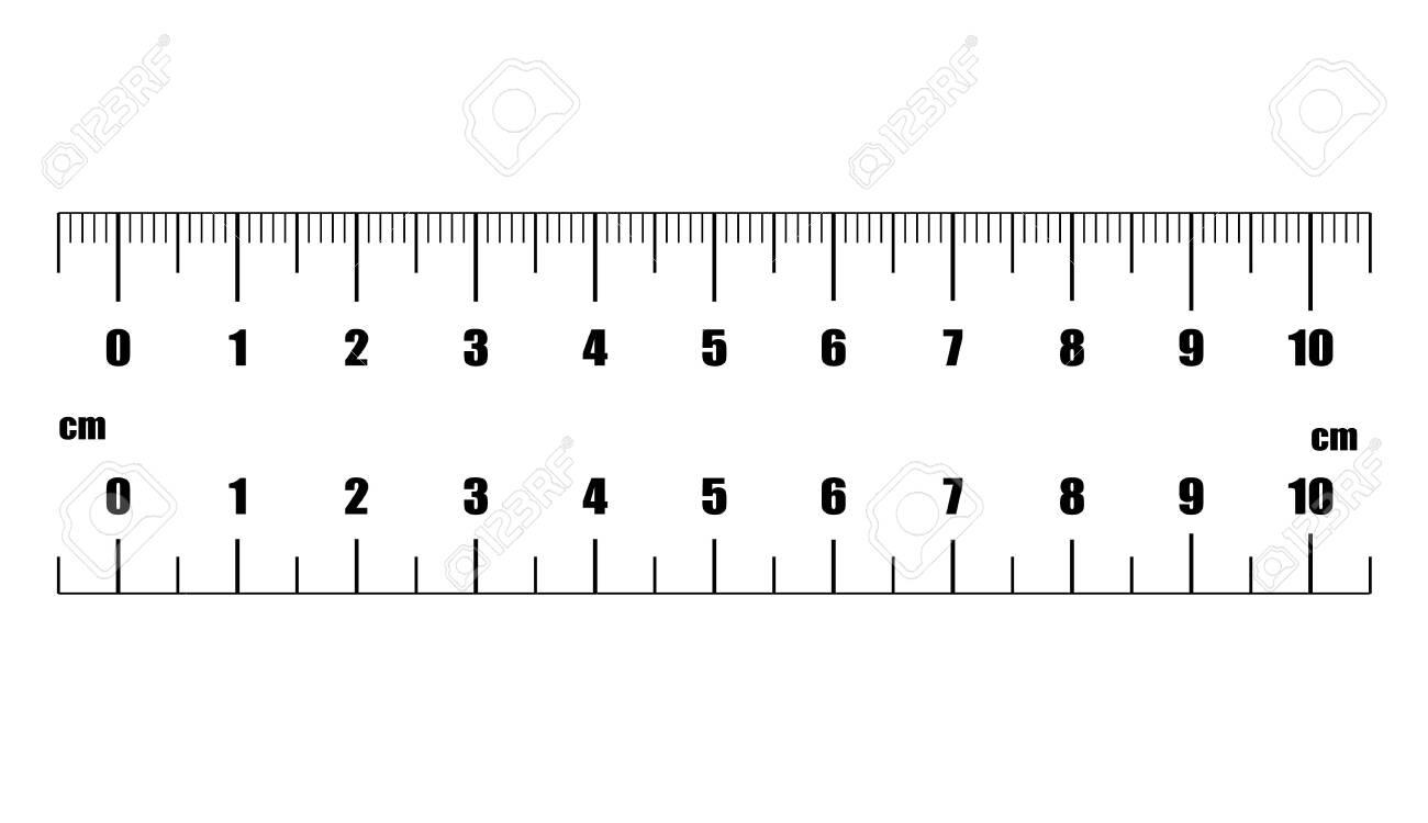 Ruler Cm. Measuring Tool. Ruler Graduation. Ruler Grid 10 Cm. Size ...