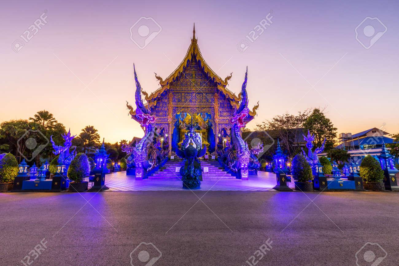 Wat Rong Sua Ten temple, Chiang Rai Province, Thailand, It's a popular destination and Landmark of Chiang Rai - 167505846