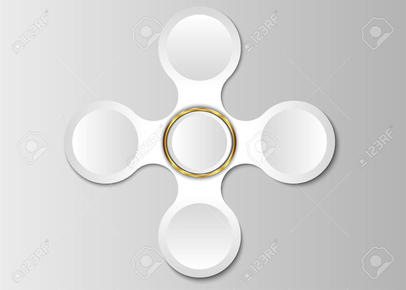 Circle Template, Circle Label Blank For Design Or Text. Royalty Free ...