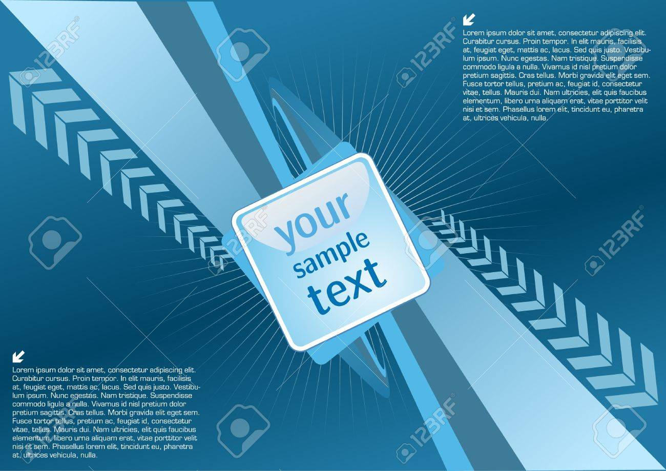 blue technical background Stock Vector - 10009507