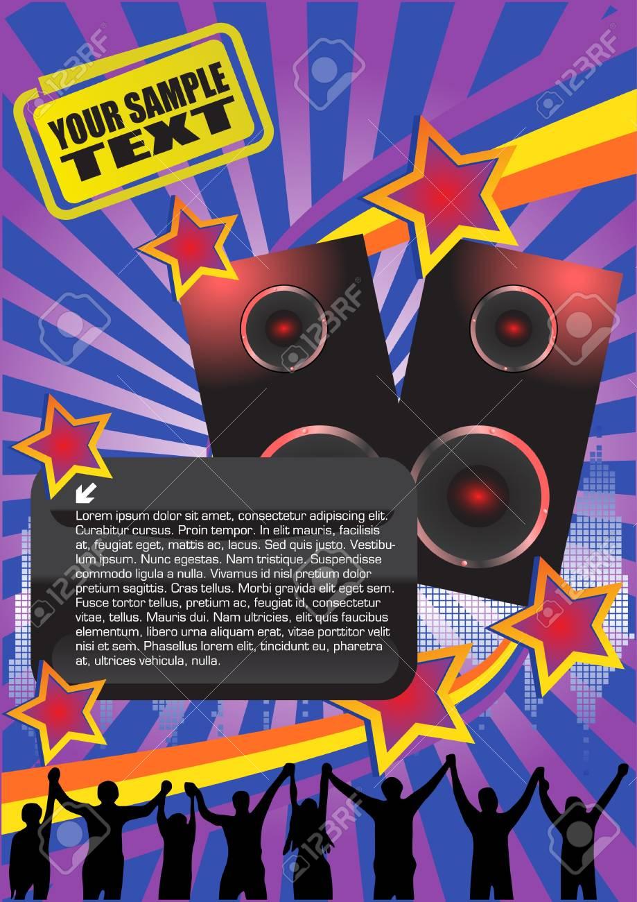disco background Stock Vector - 10009571