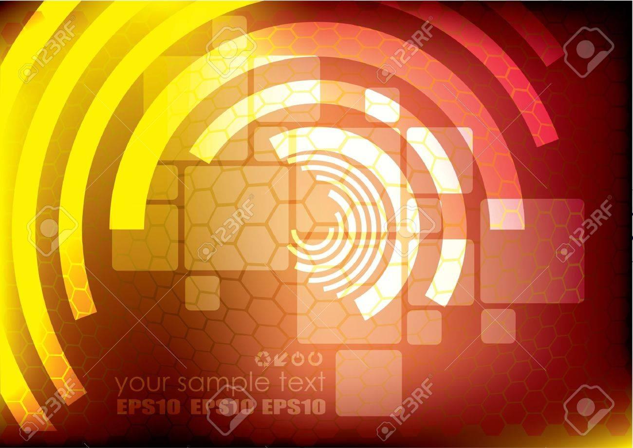 digital futuristic background Stock Vector - 10090361