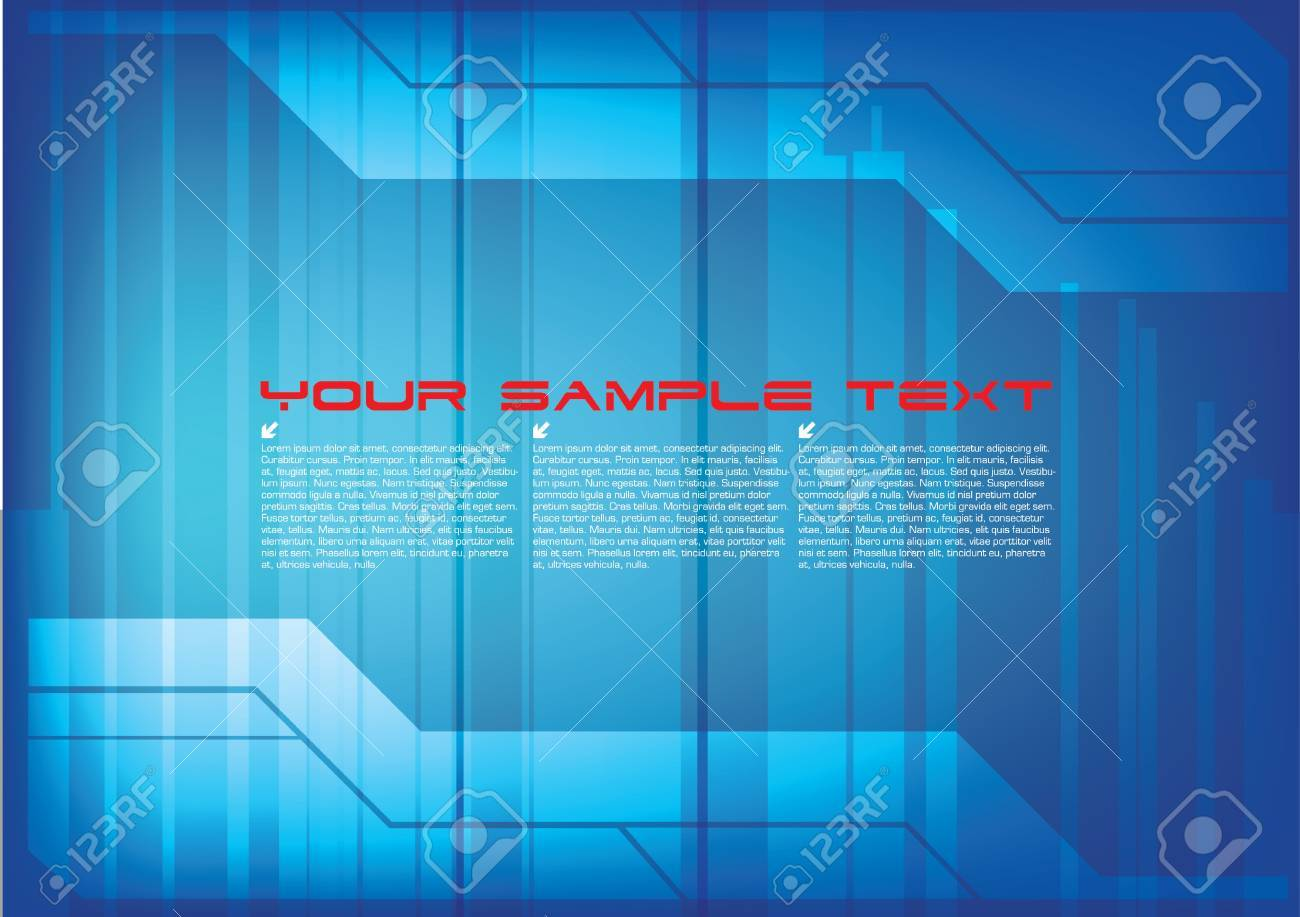 technical abstract background Stock Vector - 10202409