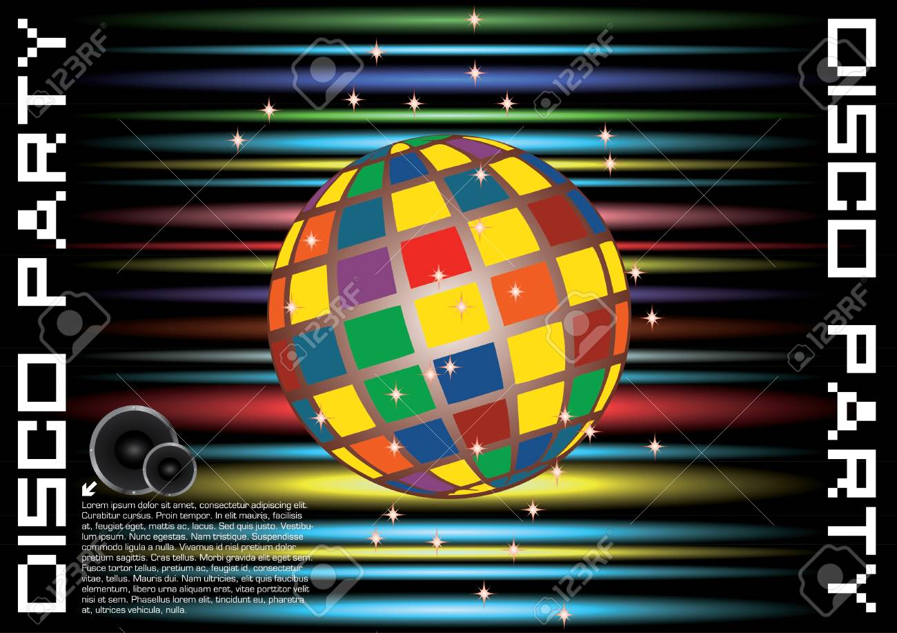 disco background Stock Vector - 11740393