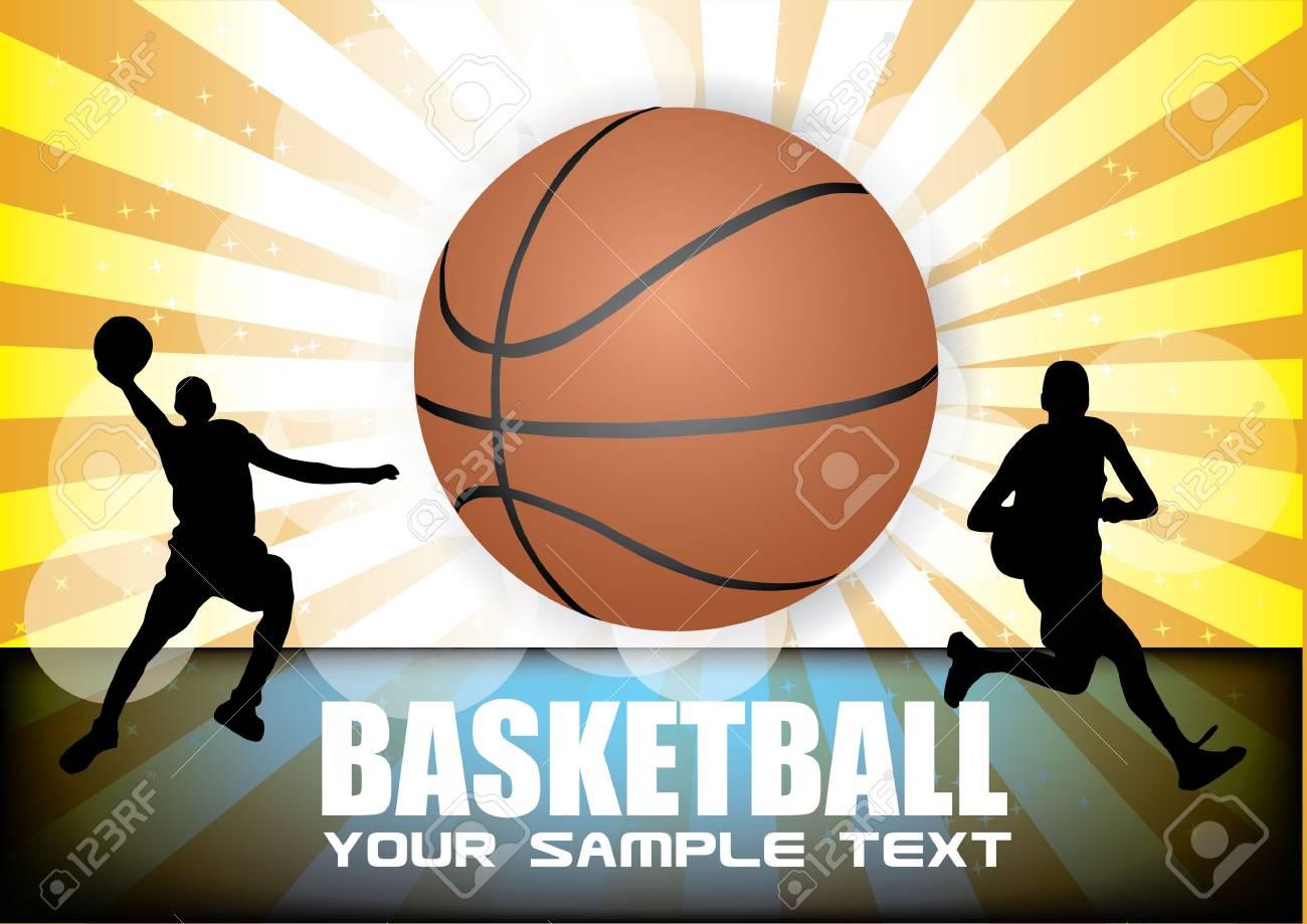 basketball vector Stock Vector - 12062238