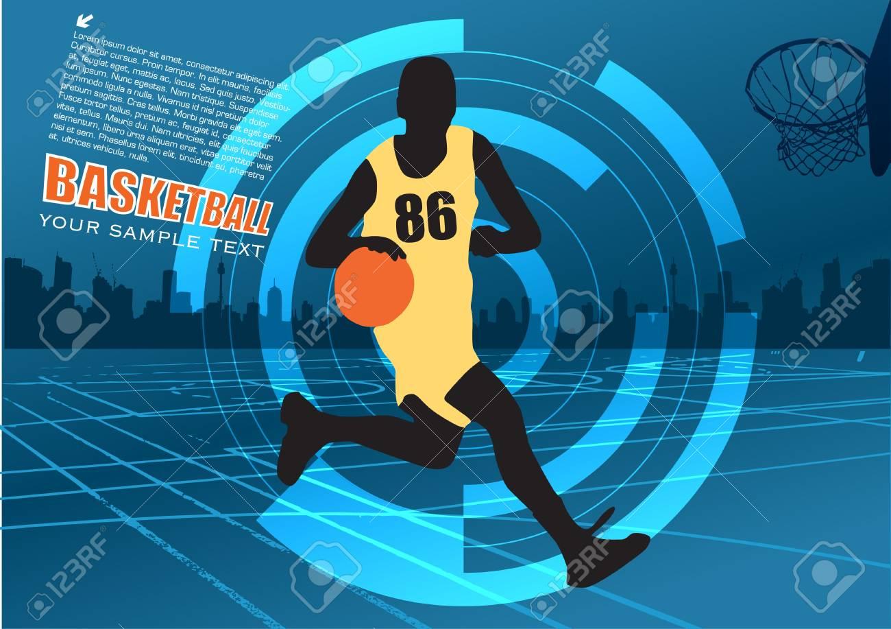 basketball vector Stock Vector - 12236778