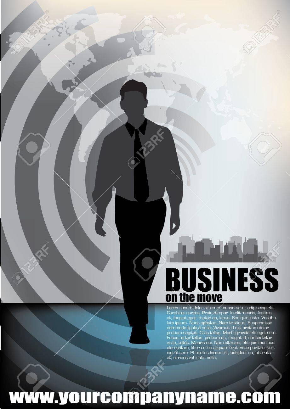 business vector illustration Stock Vector - 12236840
