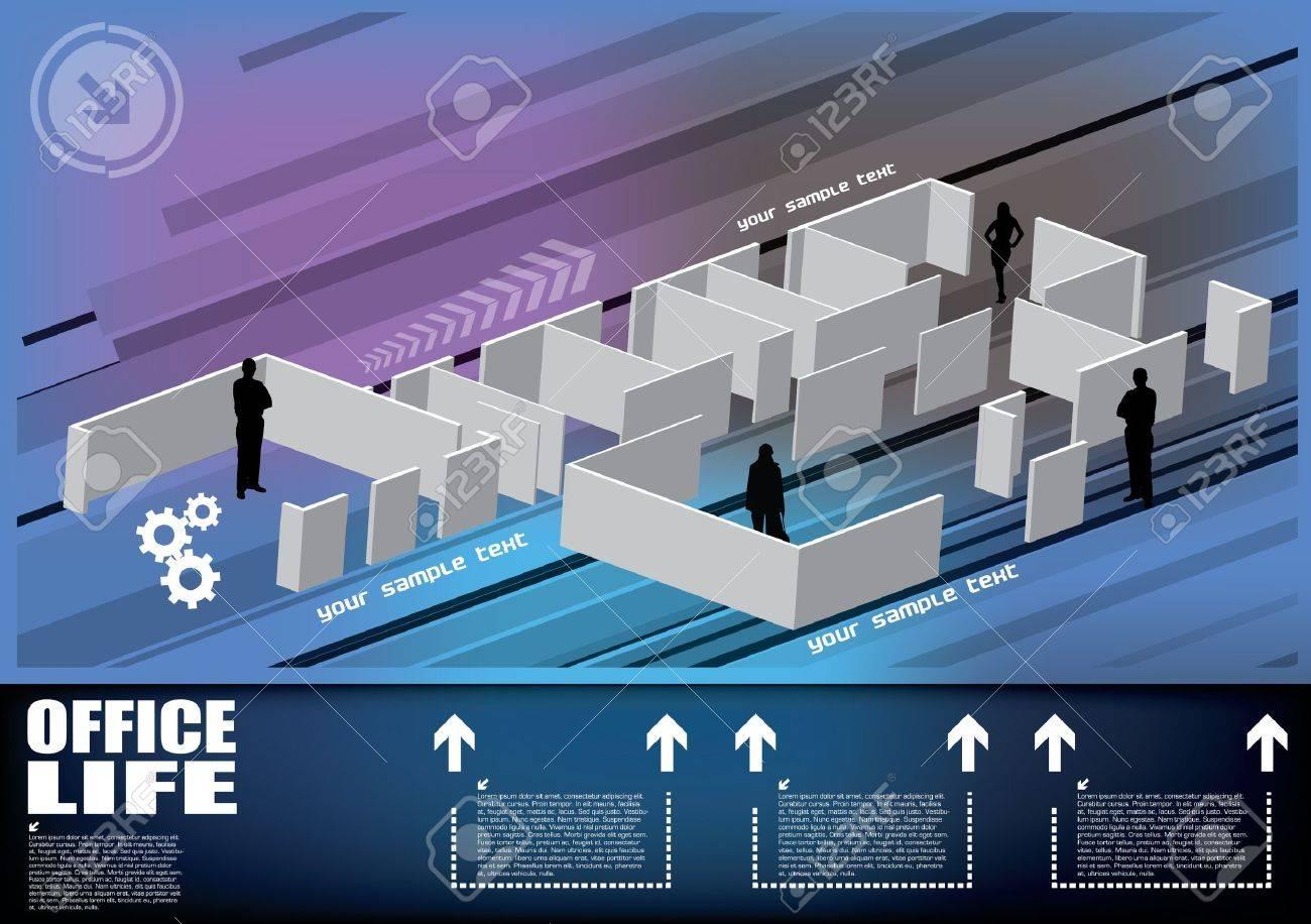business floor concept Stock Vector - 14114553