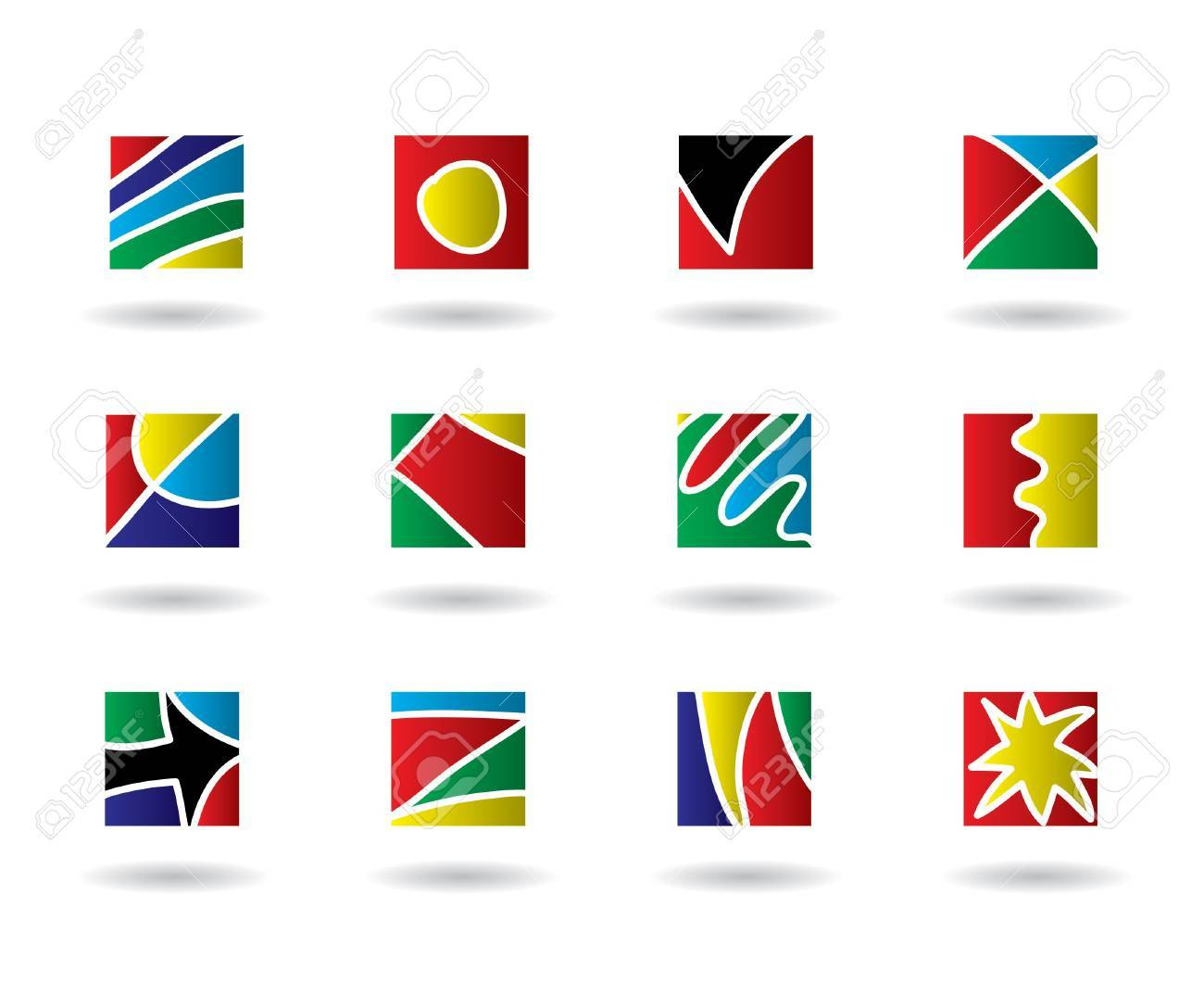 set of icons Stock Vector - 14612928