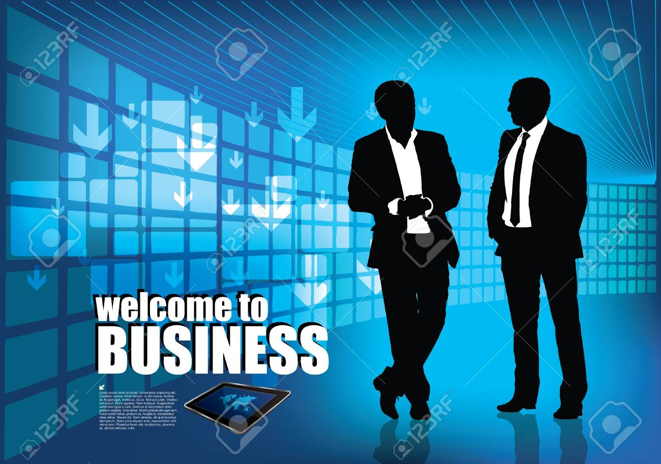 business background Stock Vector - 16451763