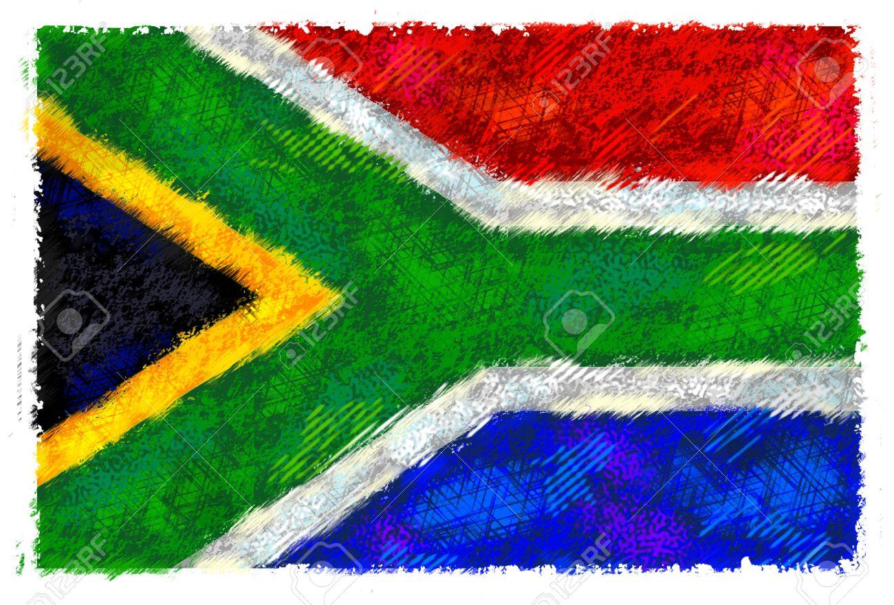Resultado de imagen de fotos bandera sudafrica