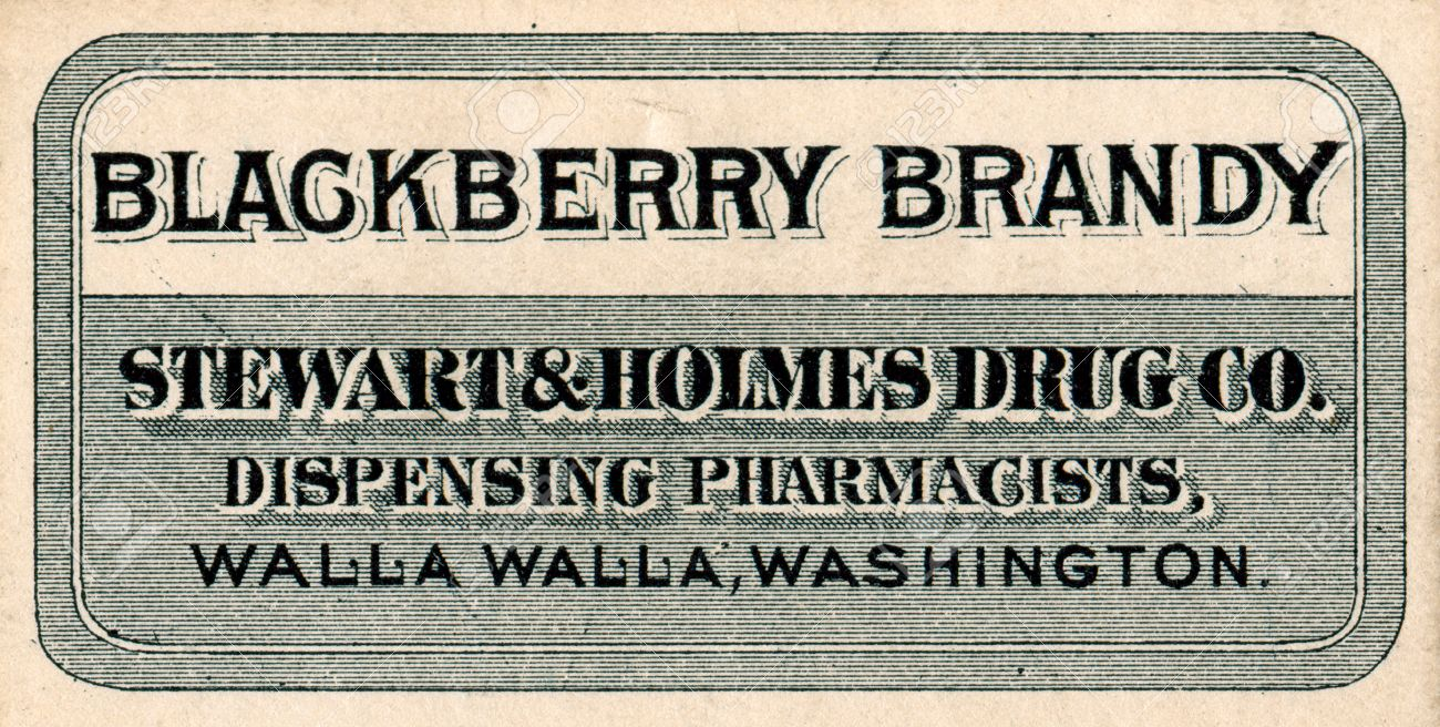 Vintage Medicine Label Stock Photo Picture And Royalty Free Image
