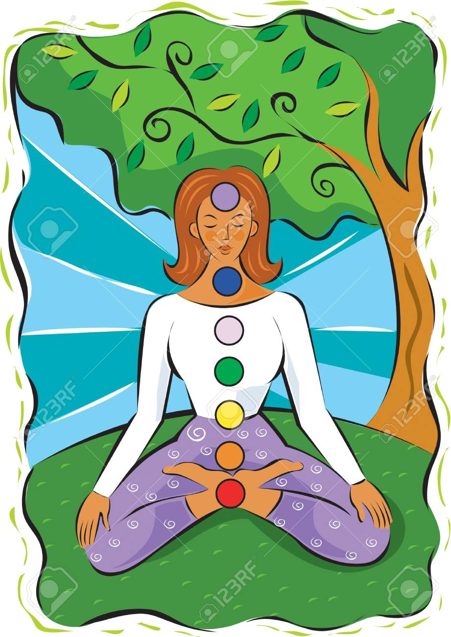 Chakras Stock Photo - 15209318