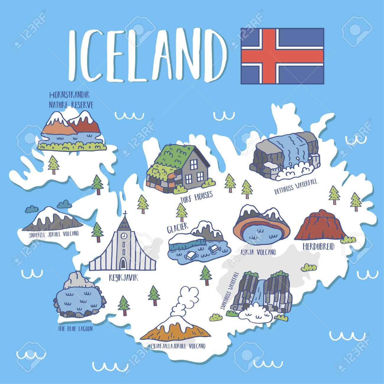 Resultado de imagen de islandia mapa