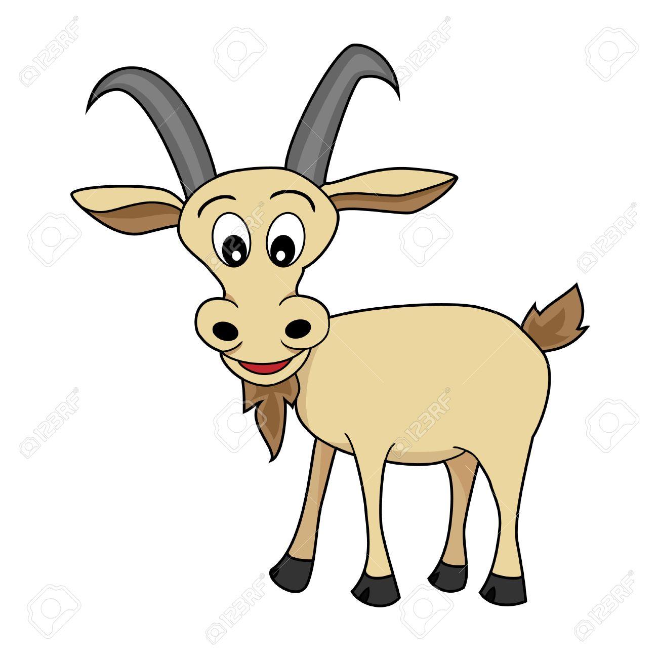 Cartoon Goat Wallpaper Cartoon Goat Animal