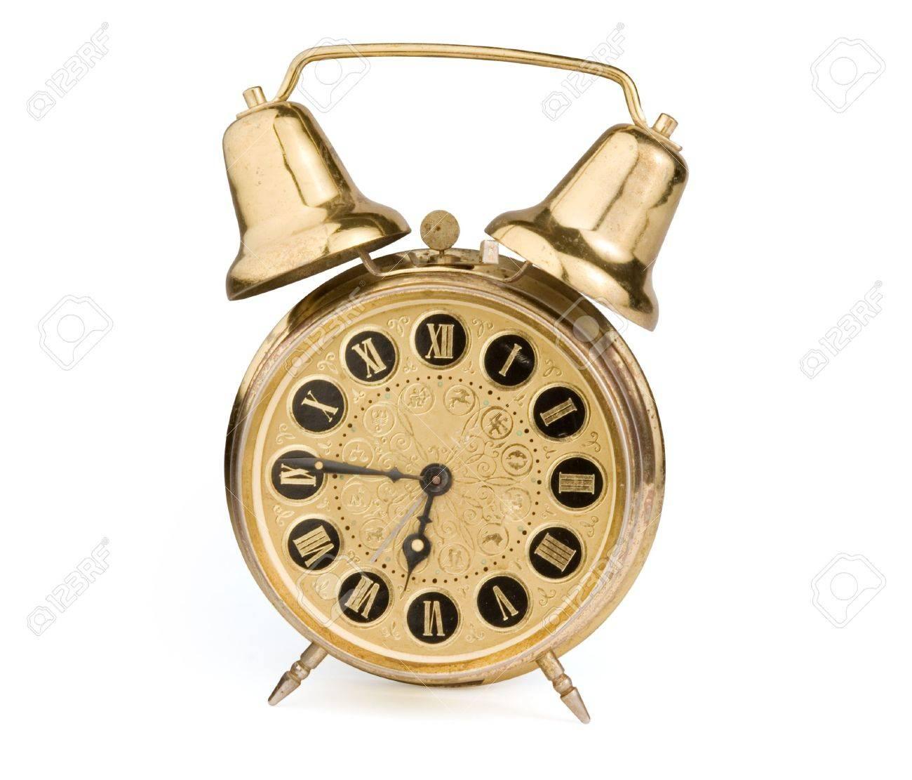 Old antique clock Stock Photo - 5339382