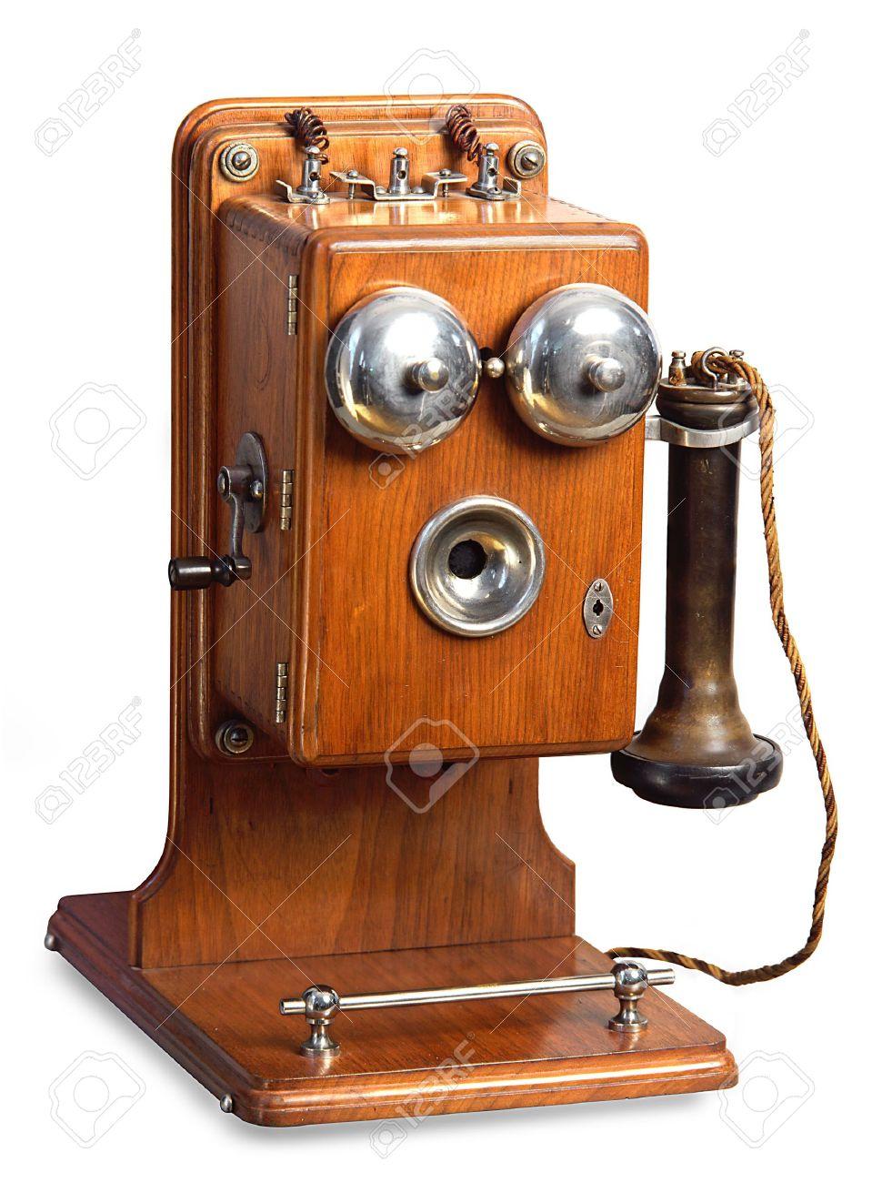 retro telephone Stock Photo - 5378580