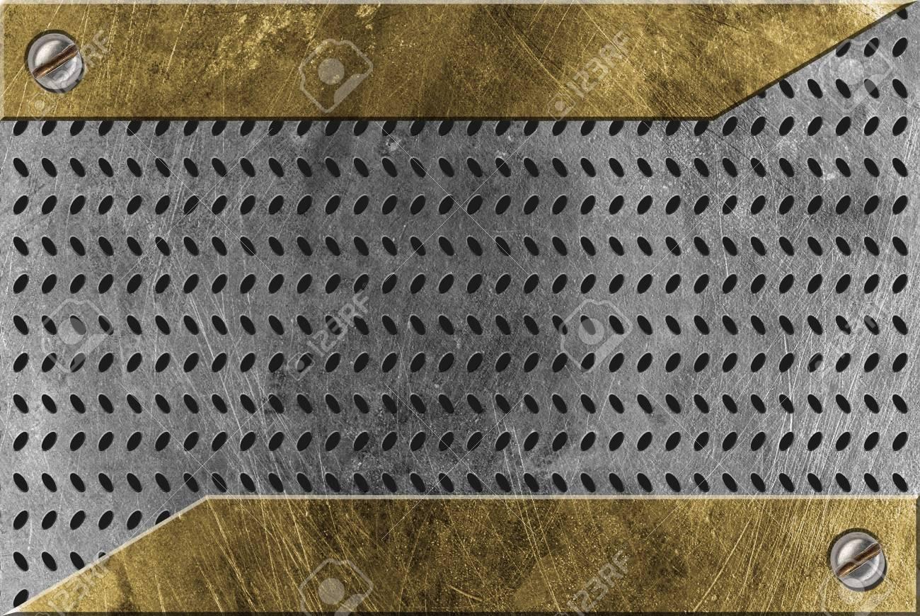 metal background Stock Photo - 5603659