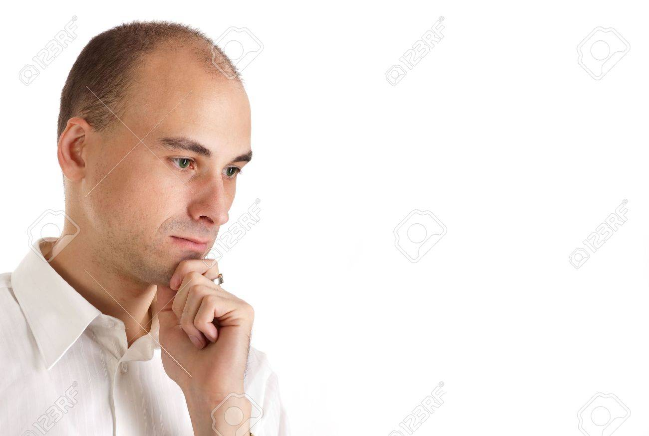 Sometimes you win, sometimes you lose (Thinking young man) Stock Photo - 5670291