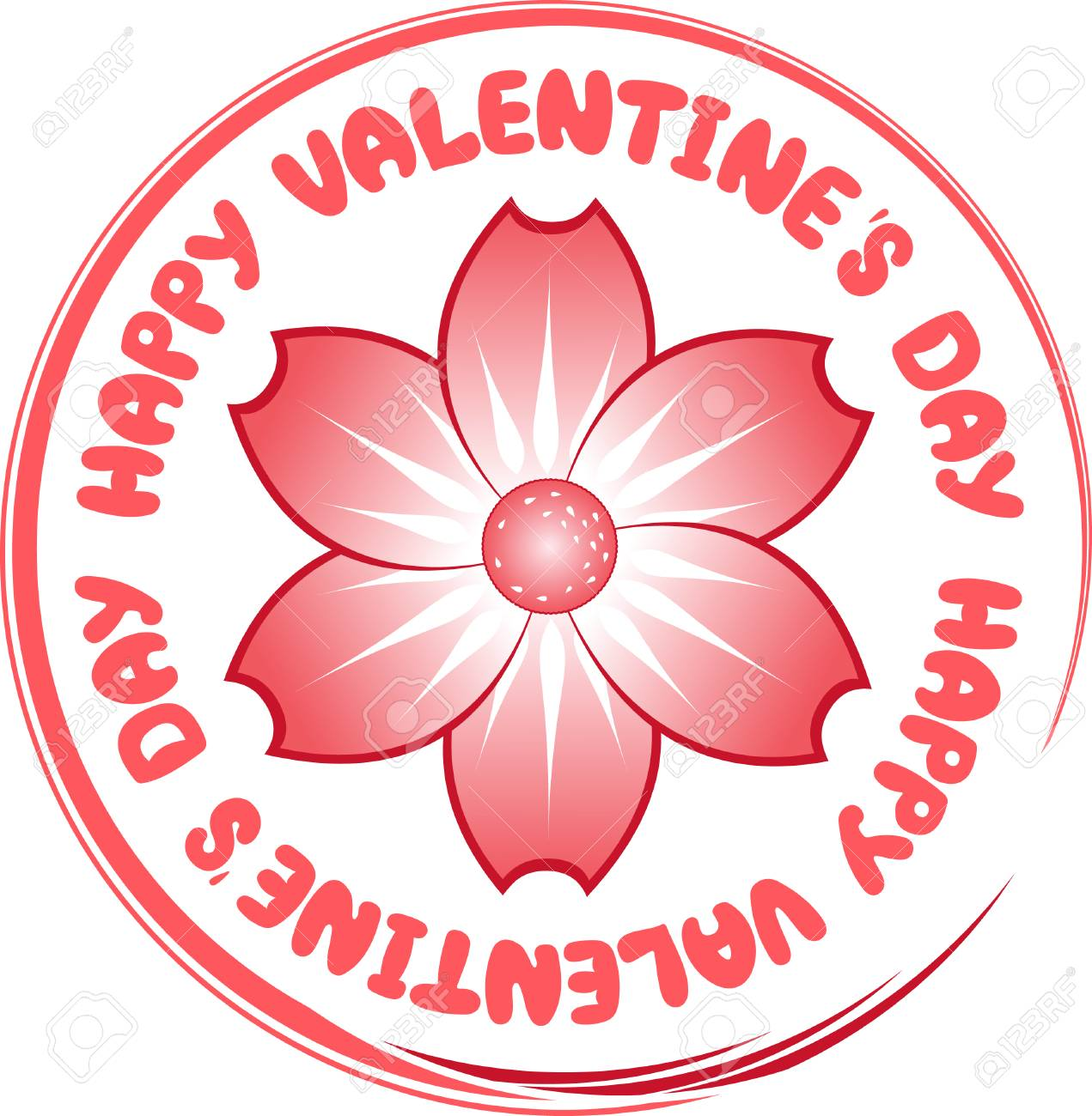 happy valentine's day Stock Vector - 6245805