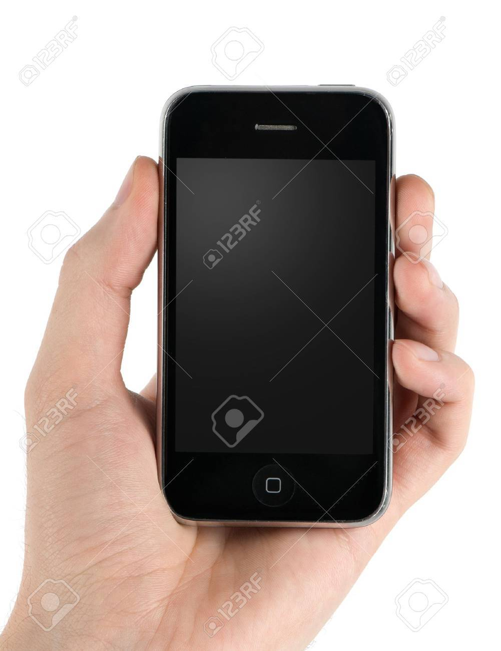 Mobile phone in man hand Stock Photo - 7040652