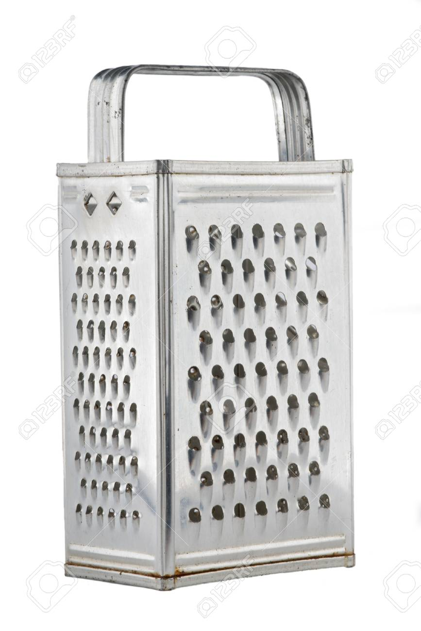 Old Fashioned Universal Kitchen Grater Stock Photo   1431929