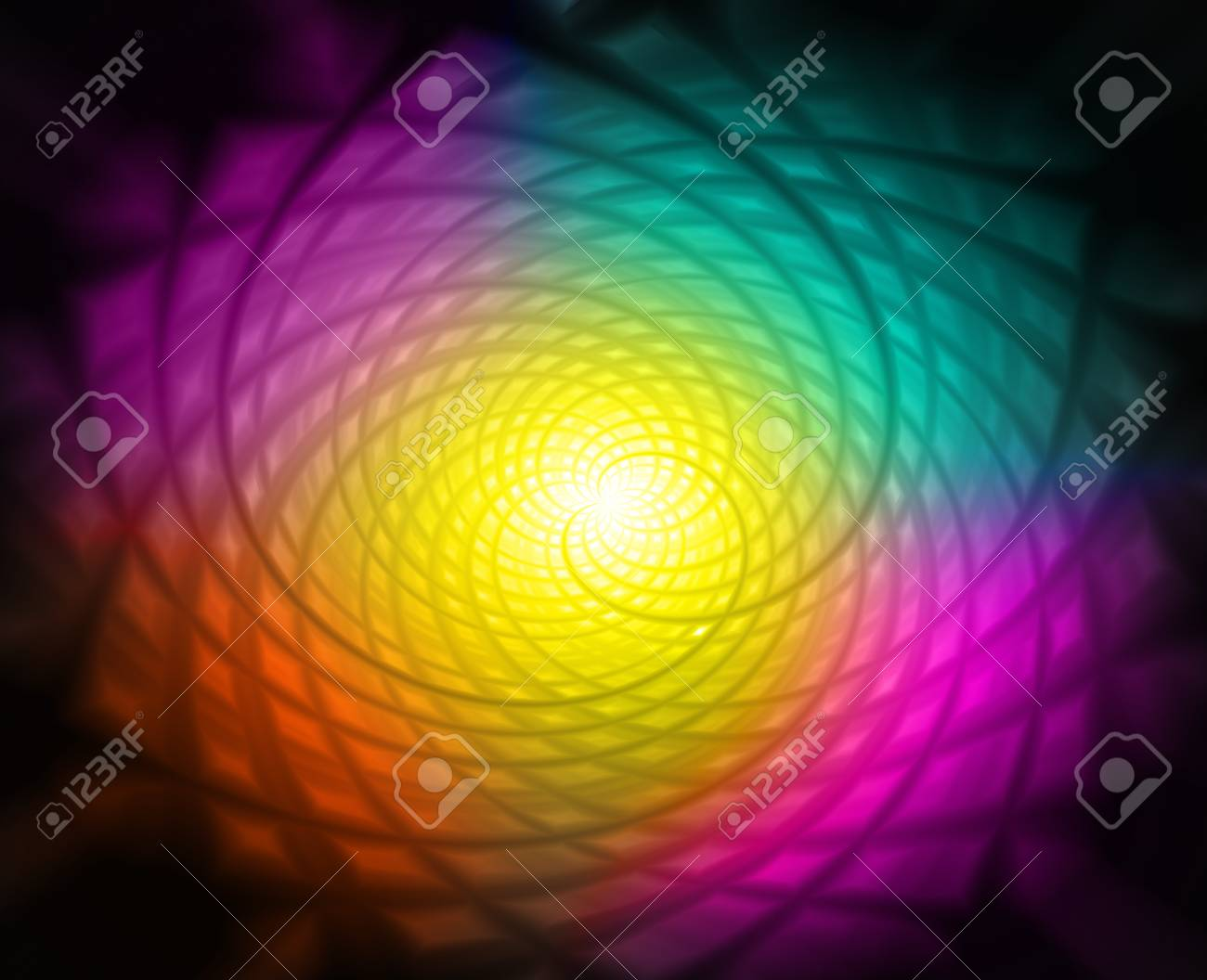 Abstract Coloured Lights Stock Photo - 18197587