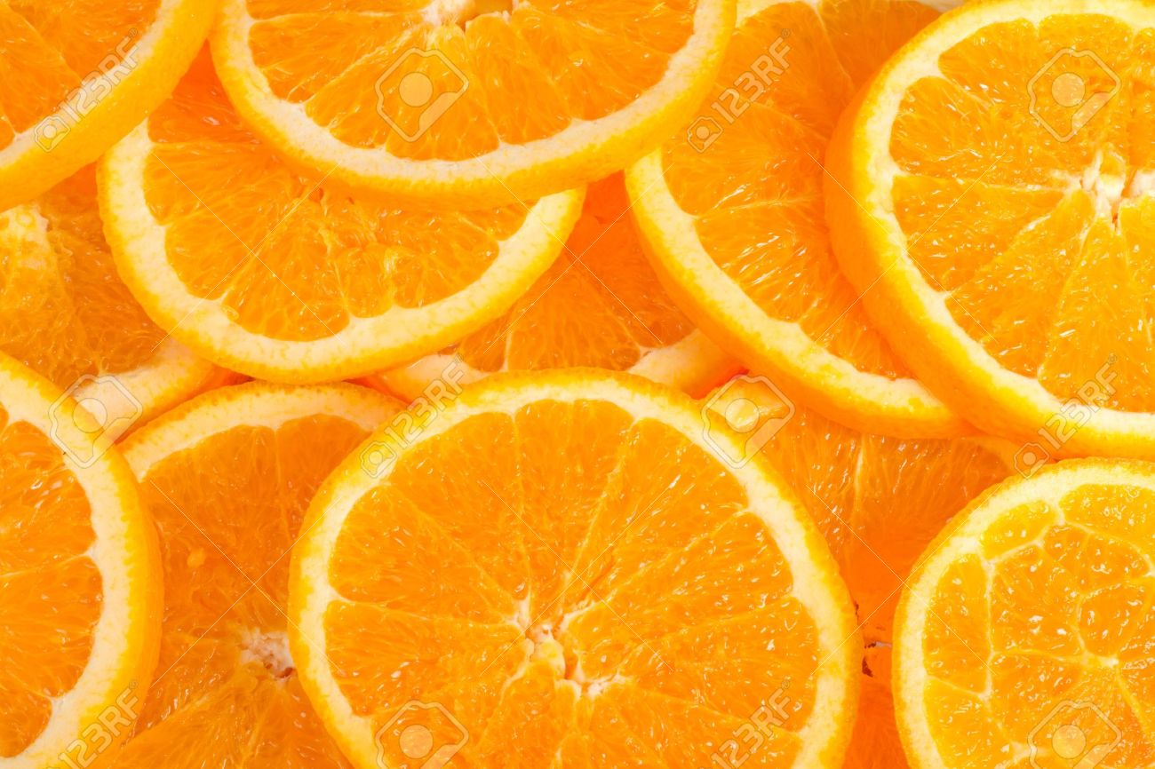 fresh and big orange slices background stock photo picture and