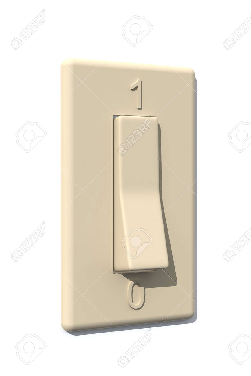 Light  Switch - On Stock Photo - 574440