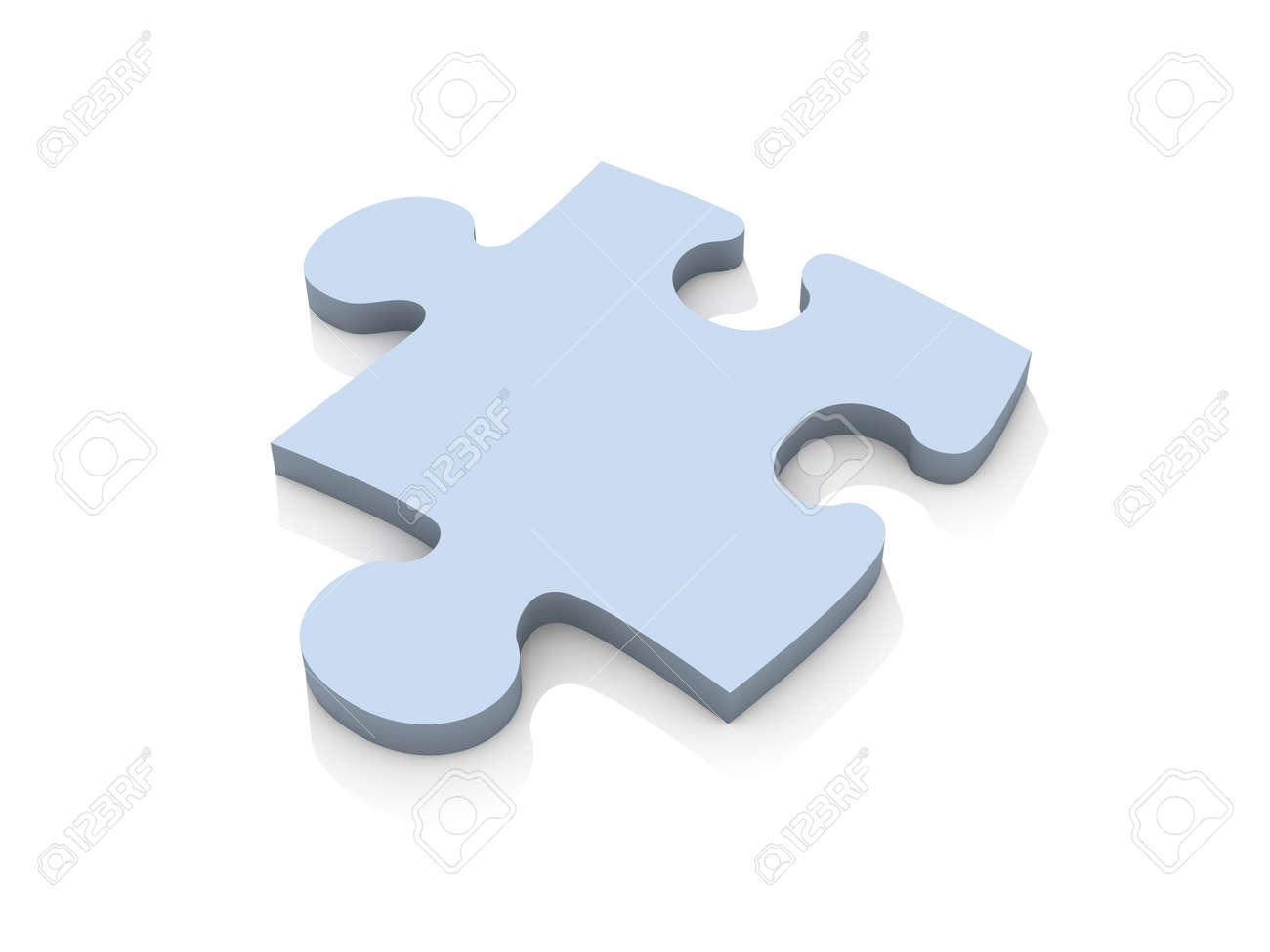 Puzzle Piece - isolated Stock Photo - 777994